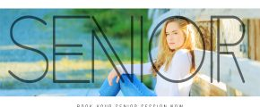 Book today to save $100 off your senior pictures. Summer booking special